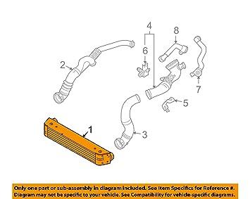 Amazon.com: Original BMW E60 E60 N E61 Intercooler Turbo ...