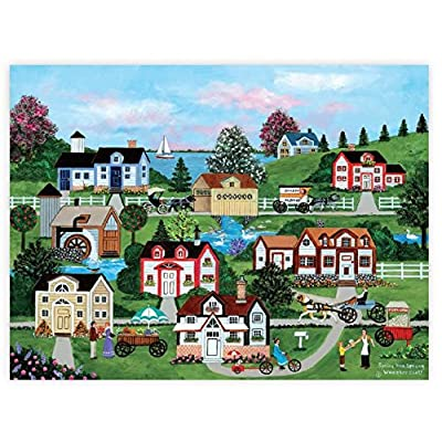 Ceaco Jane Wooster Scott Spring Has Sprung Puzzle (550 Piece): Toys & Games [5Bkhe0303078]