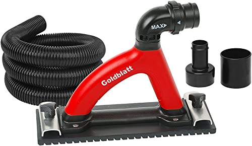 Goldblatt Dust Free Hand Sander with 6-ft hose