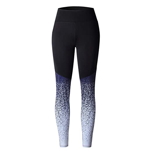 Pantalones de yoga con degradado de color, bonitos ...