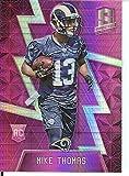2016 Spectra Rookies Neon Pink #148 Mike Thomas 7/10 LA Rams