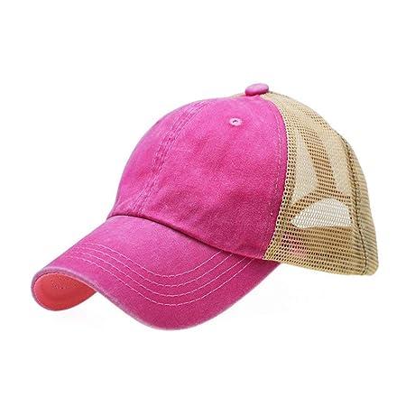 sdssup Red Cap Gorra de béisbol Hombres y Mujeres Marea Primavera ...