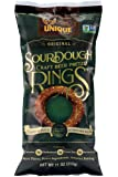 Unique Pretzels - Sourdough Craft Beer Pretzel Rings, Homestyle Baked, Certified OU Kosher and non-GMO, 11 Ounce Bags, 3…