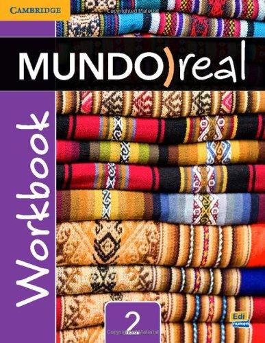 Mundo Real Level 2 Workbook (Spanish Edition) [Celia Meana - Eduardo Aparicio] (Tapa Blanda)