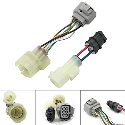 with obd0 to obd1 distributor wiring further honda civic wiringamazon com motoparty obd0 to obd1 distributor adaptor jumper with obd0 to obd1 distributor wiring further honda civic wiring