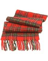Childrens Pure Cashmere Tartan Scarf, Royal Stewart