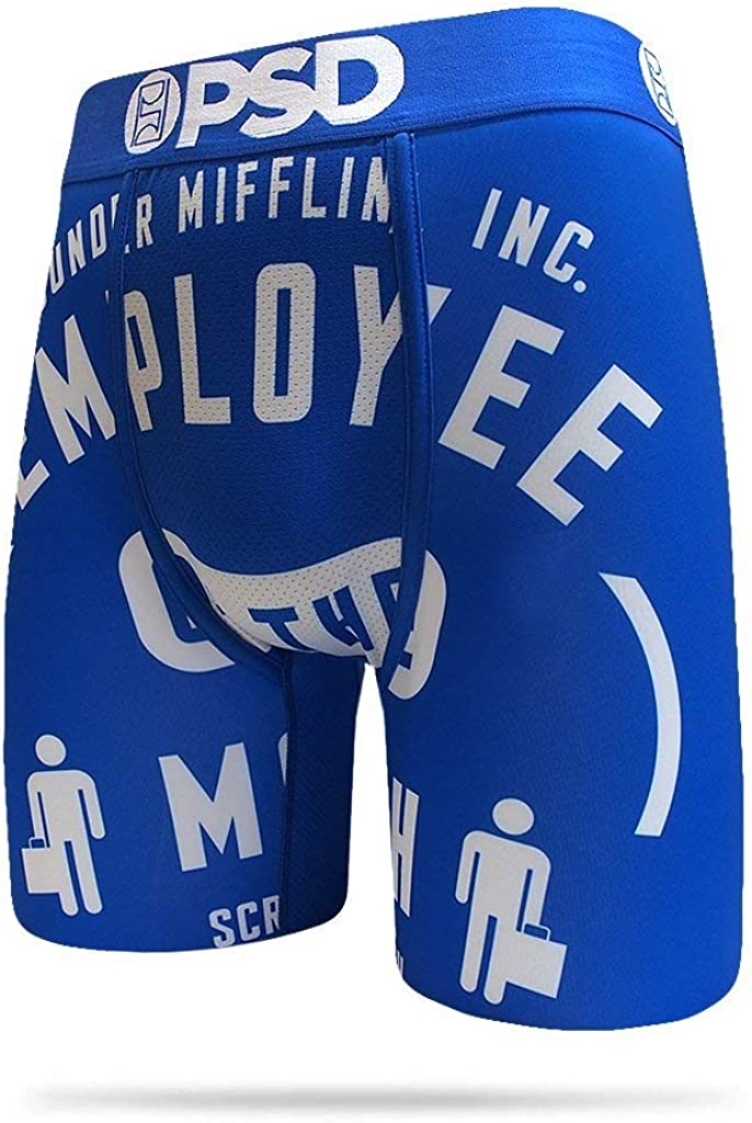 PSD Men's E - The Office Employee of The Month Boxer Brief Underwear
