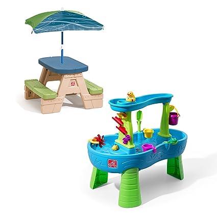Amazon step2 sit and splash water play set toys games step2 sit and splash water play set watchthetrailerfo