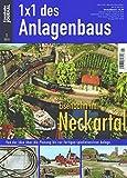 Eisenbahn im Neckartal - Von der Idee über die Planung bis zur fertigen spielintensiven Anlage - Eisenbahn Journal 1 x 1 des Anlagenbaus 1-2010