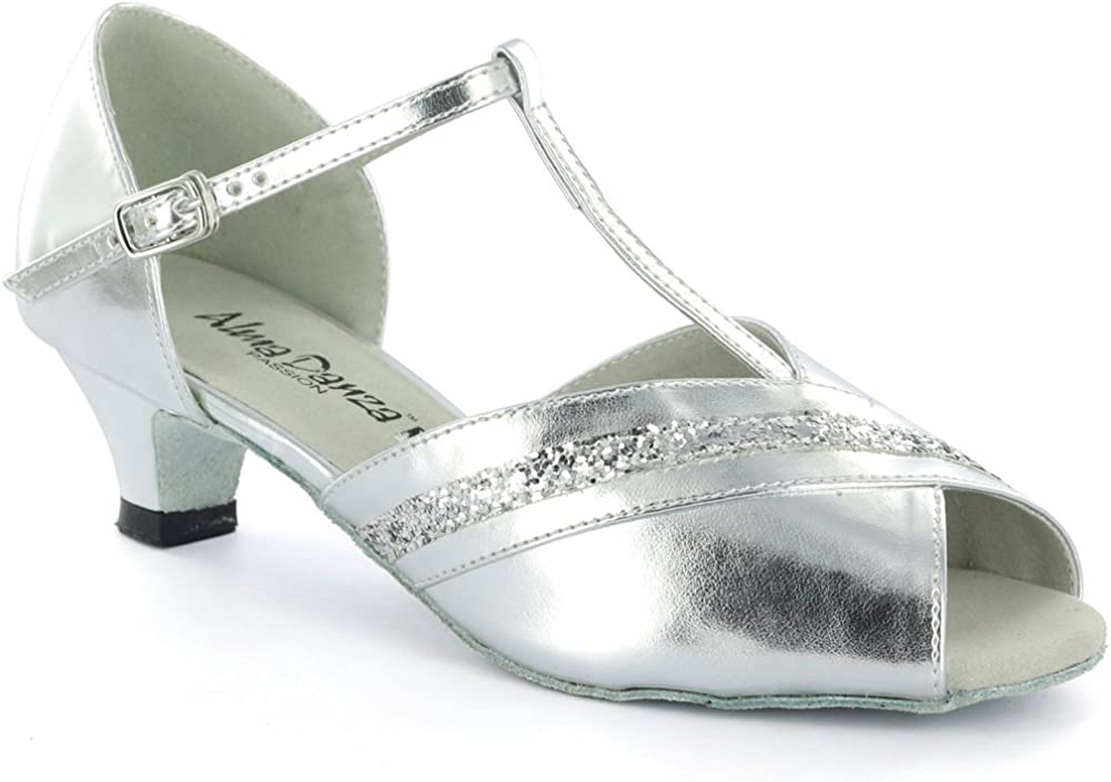 AlmaDanza Girls Latin Dance Shoes A261502B