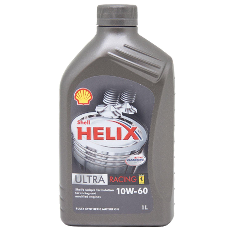 SHELL 1310001 Aceite de Motor Helix Ultra Racing 10W-60, 1 L: Amazon.es: Coche y moto