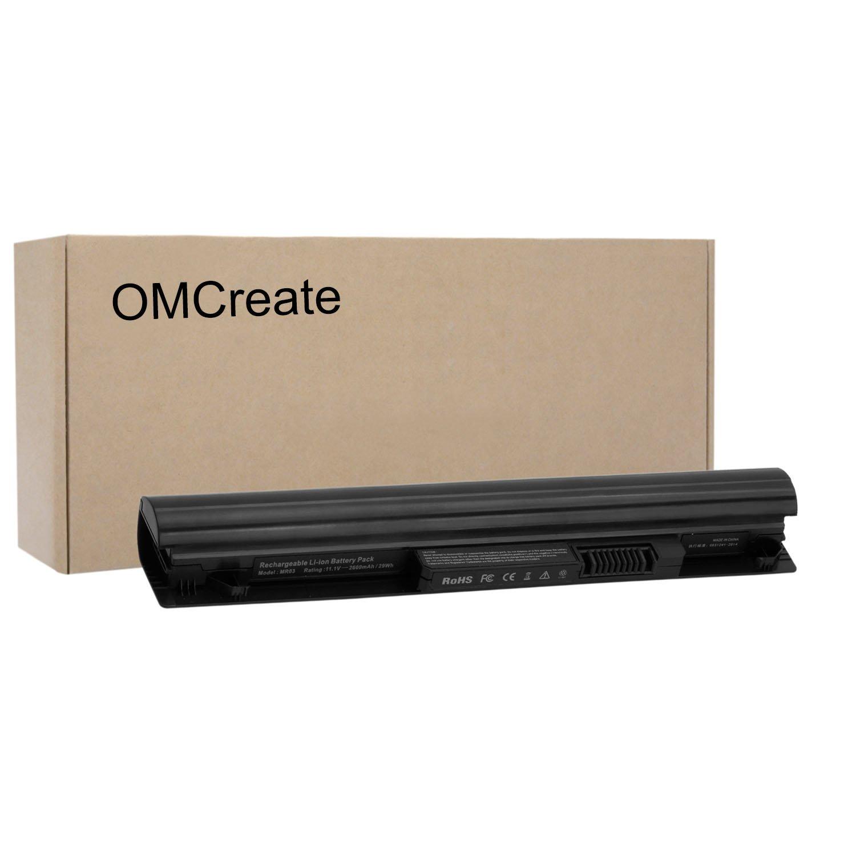 OMCreate Laptop Battery for HP Pavilion 10 TouchSmart Series, fits P/N MR03 HSTNN-IB5T 740005-121 740722-001 -12 Months Warranty [Li-ion 2600mAh]
