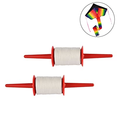 FenglinTech Kite String, 2 PCS 492ft Kite Line and Kite Spool for Outdoor Flying Kites: Toys & Games