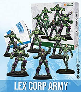 Knight Models Juego de Mesa - Miniaturas Resina DC Comics Superheroe - Lex Corp Army: Amazon.es: Juguetes y juegos