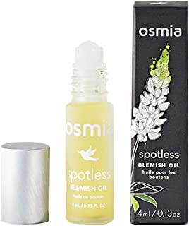 product image for Osmia Spotless Blemish Oil - Non-Drying Dark Spot Correction Treatment Oil - Essential Oils of Lavender, Evening Primrose & Lemon - Help to Reduce the Appearance of Blemishes (0.13 Fluid Ounces)
