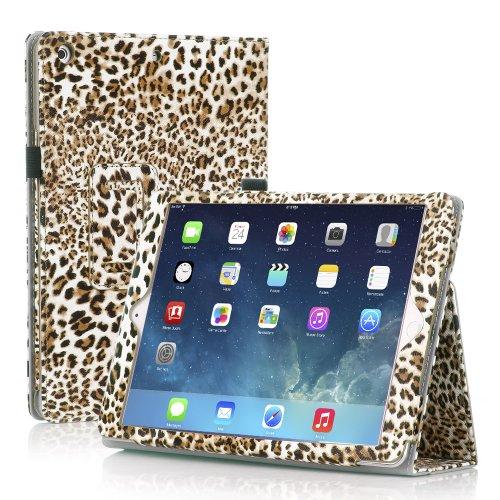 TNP iPad Case Leopard Yellow