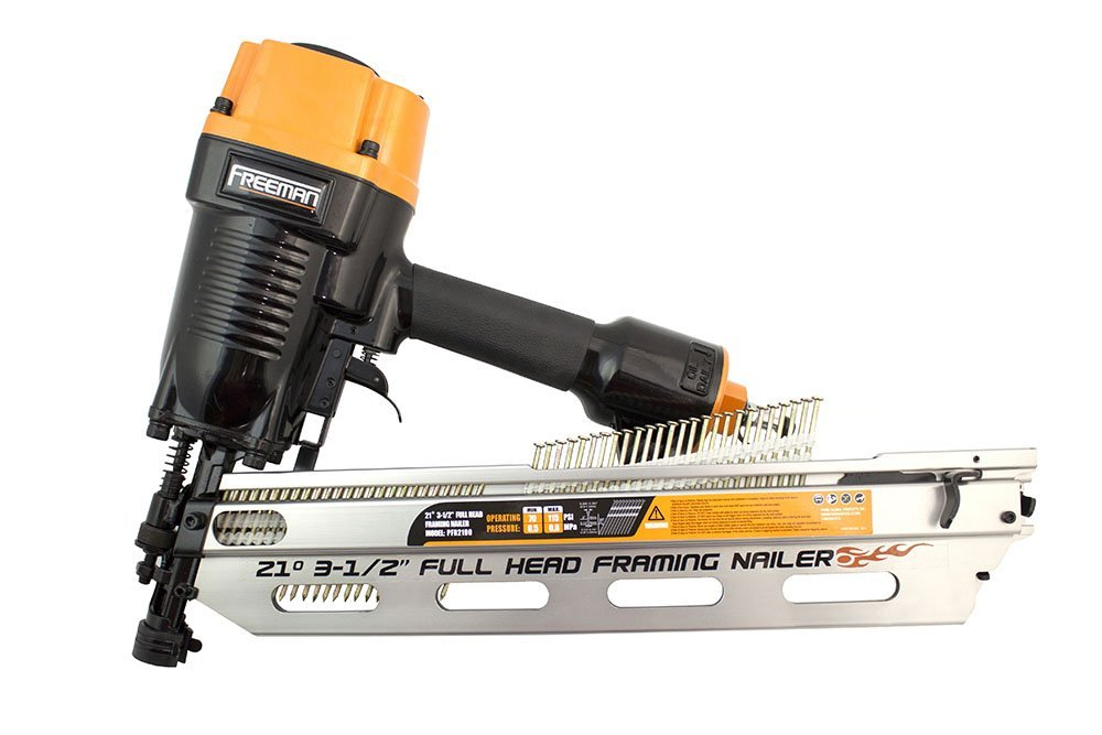Freeman PFR2190 21 Degree Full Head Framing Nailer   Power Framing Nailers    Amazon.com