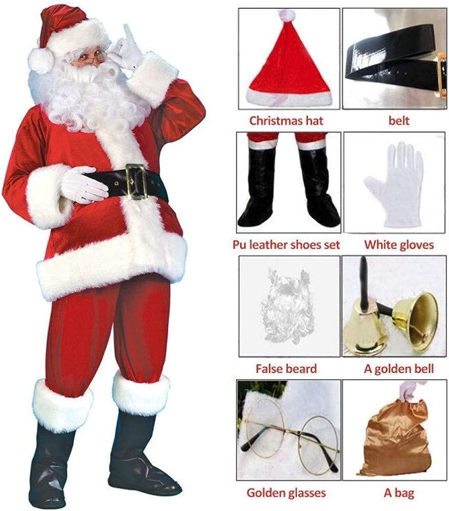 Disfraces de Papá Noel para Navidad Traje de Cosplay para ...