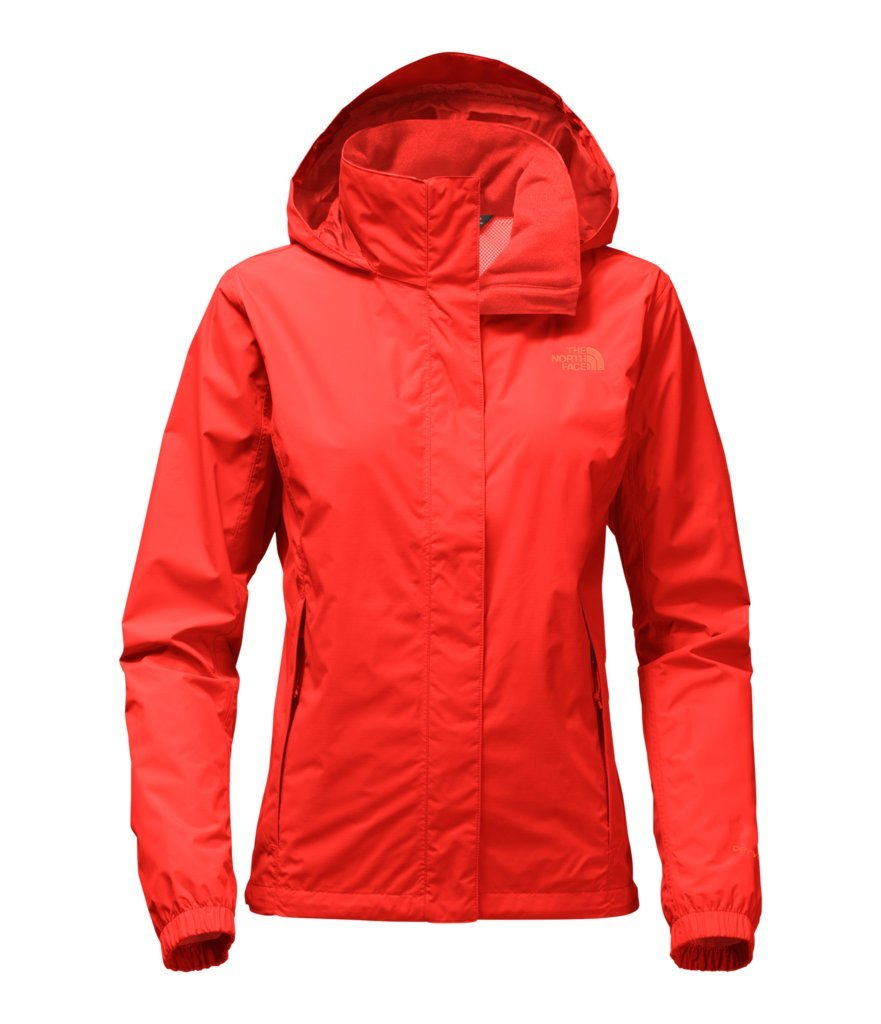 The North Face Women's Women's Resolve 2 Jacket - Fire Brick Red - M (Past Season)