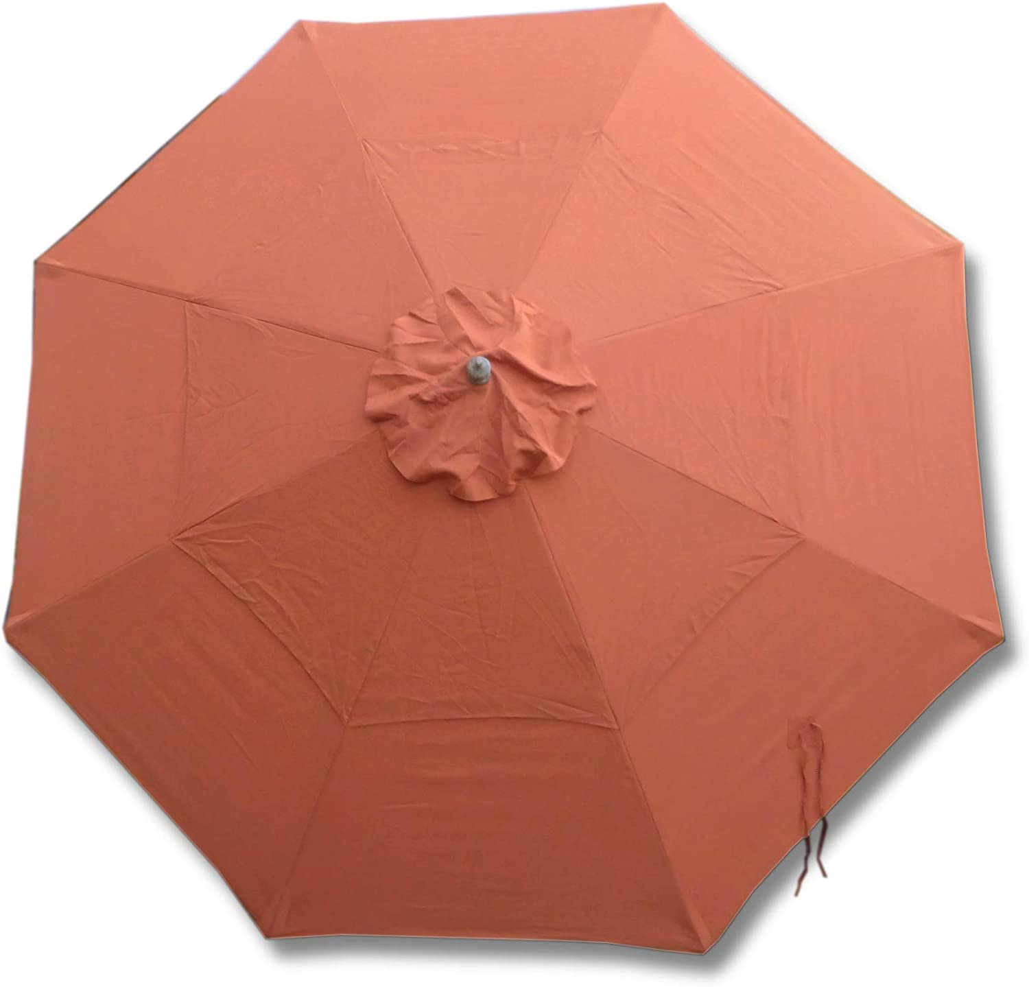 Formosa Covers Double Vented Replacement Umbrella Canopy for 11ft 8 Ribs in Terra (Canopy Only)