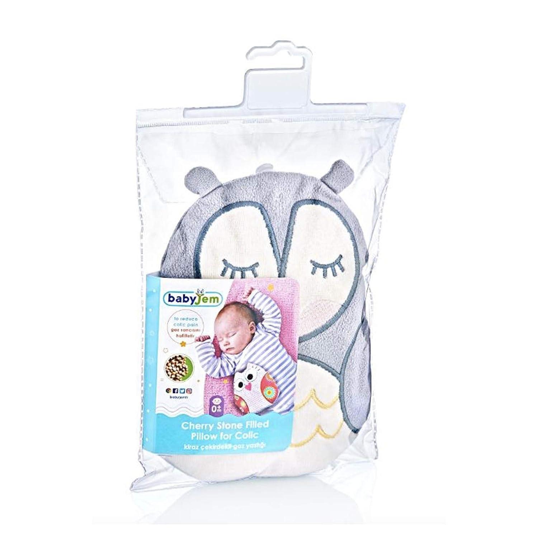 K/örnerkissen//Dinkelkissen aus hochwertiger Baumwolle Flexibler als W/ärmflasche ideal geeignet bei Bauchschmerzen und Bl/ähungen W/ärmekissen f/ür Babys Babyjem Kirschkernkissen Eule