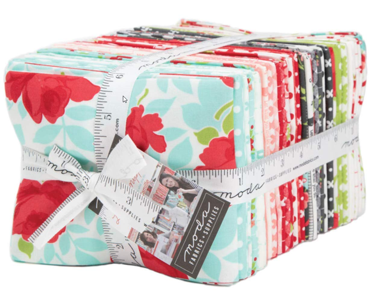 Little Snippets 40 Fat Quarter Bundle by Bonnie & Camille for Moda Fabrics 55180AB