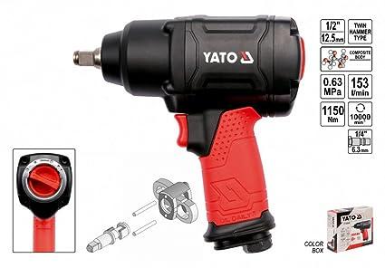 YATO YT-09540 - doble llave de impacto del martillo 1/2