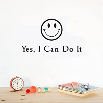 Yes I Can Do It Wall Sticker Oksale 177 X 98 Removable PVC