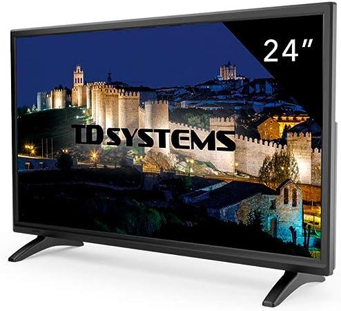 Televisor Led 24 Pulgadas Full HD, TD Systems K24DLM7F. Resolución 1920 x 1080, HDMI, VGA, USB Reproductor y Grabador.: Amazon.es: Electrónica
