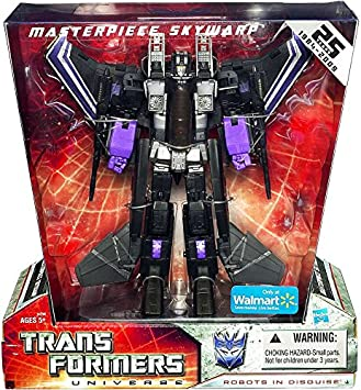 Transformers Universe 25th Anniversary Masterpiece Skywarp Exclusive Figure by Transformers