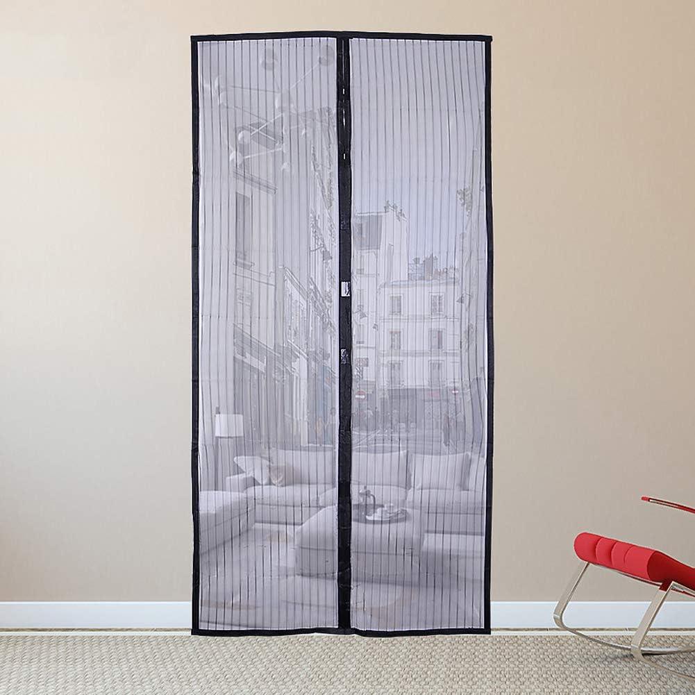 Pantalla magnética para puerta, mosquitera y mordedor, para puertas y patios, se adapta a puertas de hasta 34 x 82 pulgadas: Amazon.es: Hogar