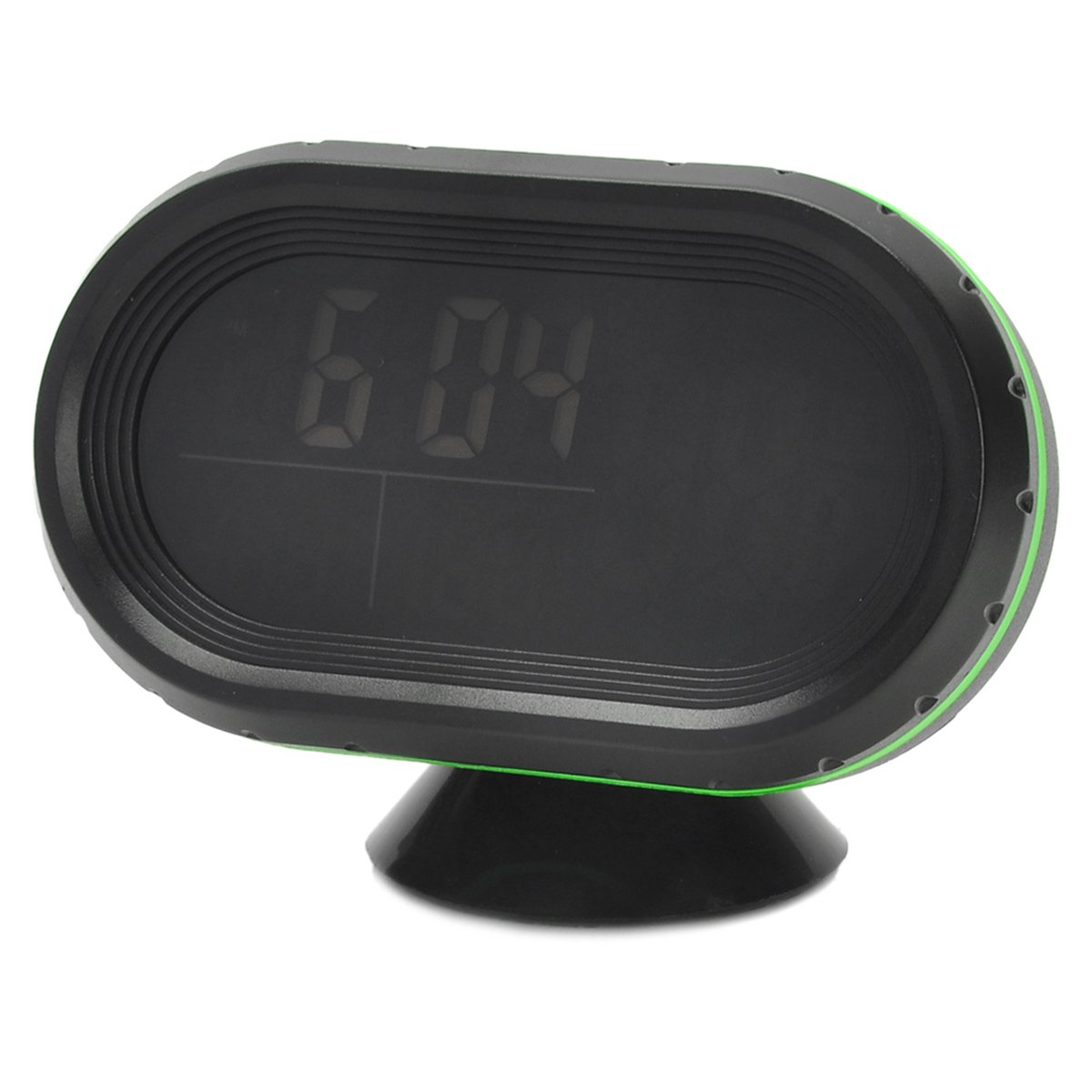AVOLUTION Black + Green ABS plastic Car 2.5'' LCD Clock/Thermometer/Battery Voltmeter by AVOLUTION (Image #1)