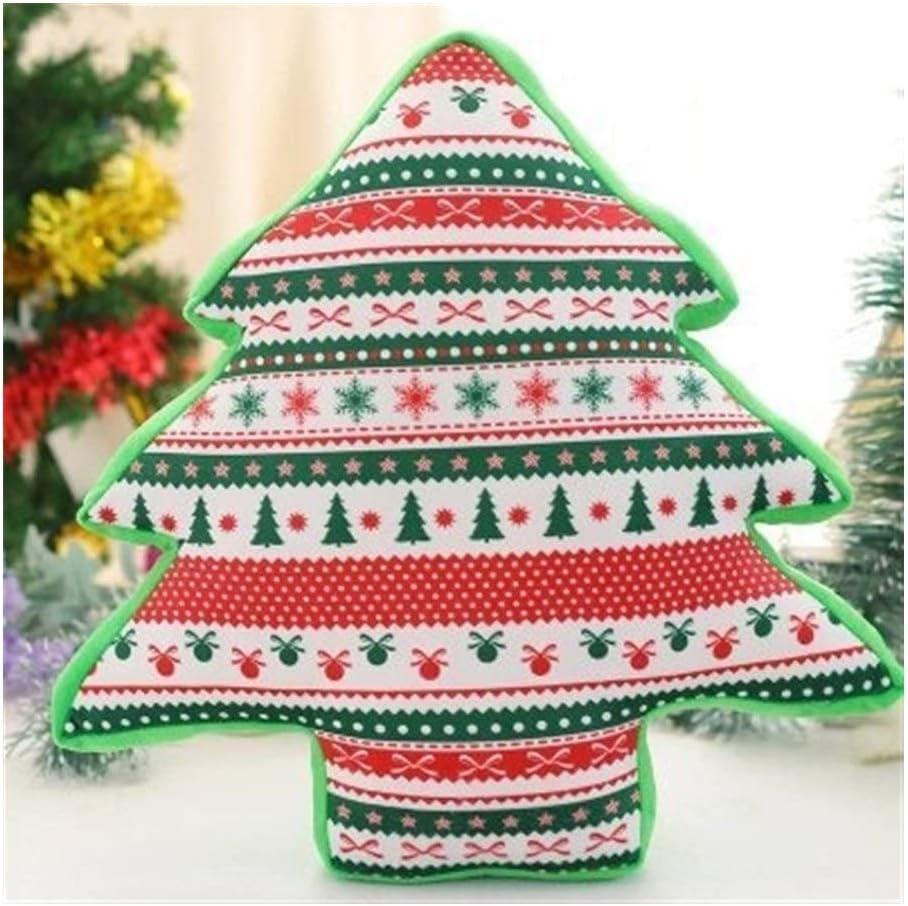 NOBRAND 45cm Navidad Juguete de Felpa Creativa Almohadilla de la decoración Linda Juguete Manera Suave Acogedor del Amortiguador Duradero Vivid Personalidad Juguetes de Peluche Almohada Suave