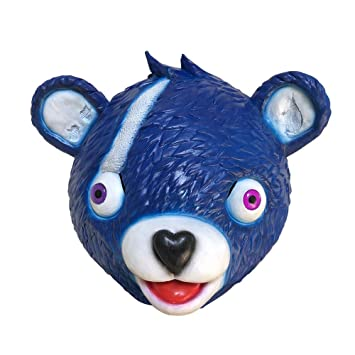 amazon com theshy cuddle team leader bear game mask melting face