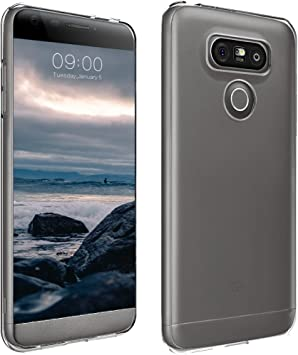 ELECTRÓNICA REY Funda Carcasa Gel Transparente para LG G6, Ultra ...