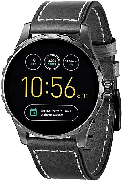 Amazon.com: Kartice para Fossil Q Marshal Gen 2 correas de ...