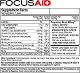 FOCUSAID Energy Blend | Nootropics Drink for