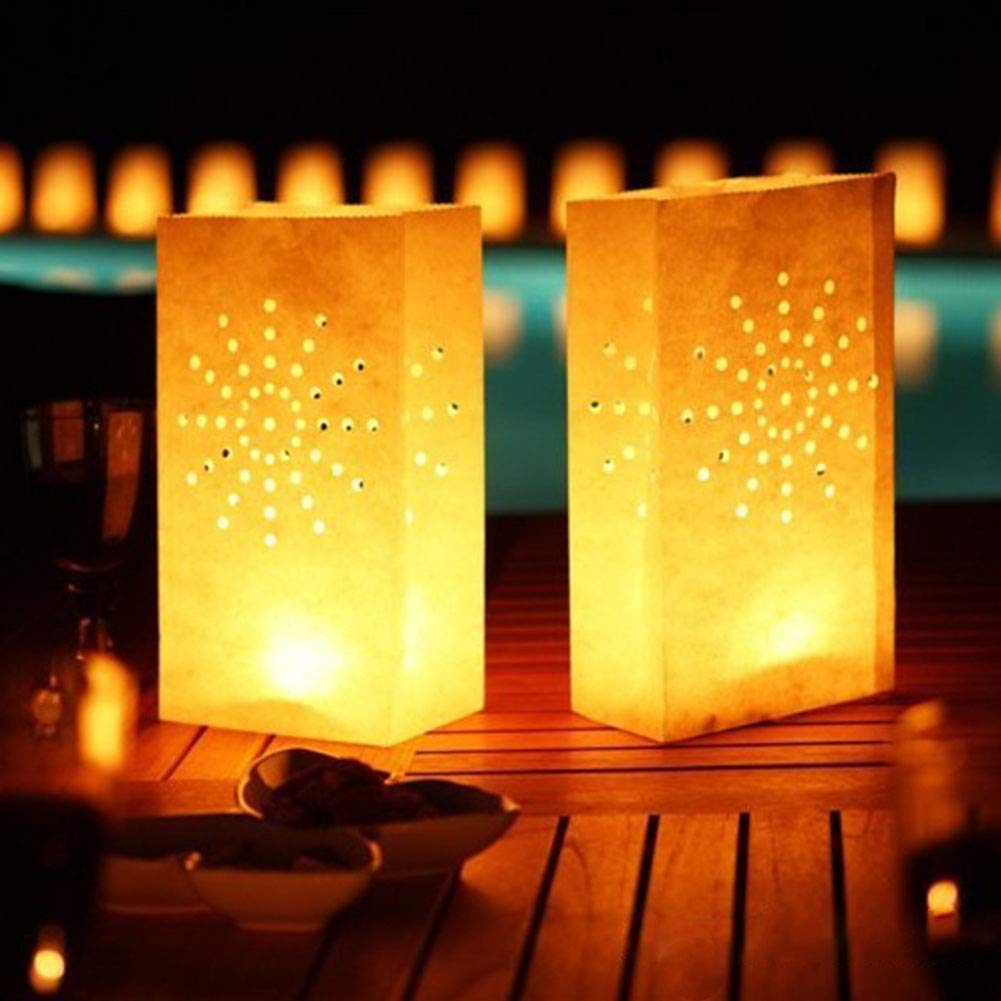 Amazon.com: Youyouchard - Bolsas luminosas para velas (10 ...
