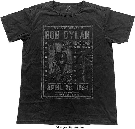Bob Dylan Curry Hicks Cage Vintage Camiseta para Hombre