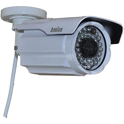 Bala cámara de seguridad (blanco) Wide Angle 2,8 mm 1000TVL CMOS con