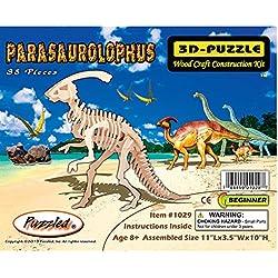 Parasaurolophus Dinosaur 3d Wooden Puzzle by Puzzleventure
