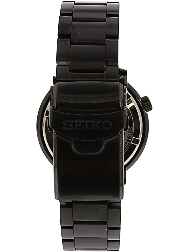 sports shoes 8a238 65078 Seiko 5 Sports 100m Automatic 'Bottle Cap' Steel Black Ip Turquoise Dial  Watch SRPC65K1
