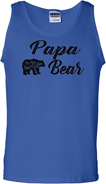 Husband Dad Protector Hero Tank Top Father/'s Day Daddy Parenthood Sleeveless