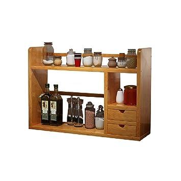 Amazon.de: YQP Schlafzimmer Crack Lagerregal Schmale Zimmer Küche ...