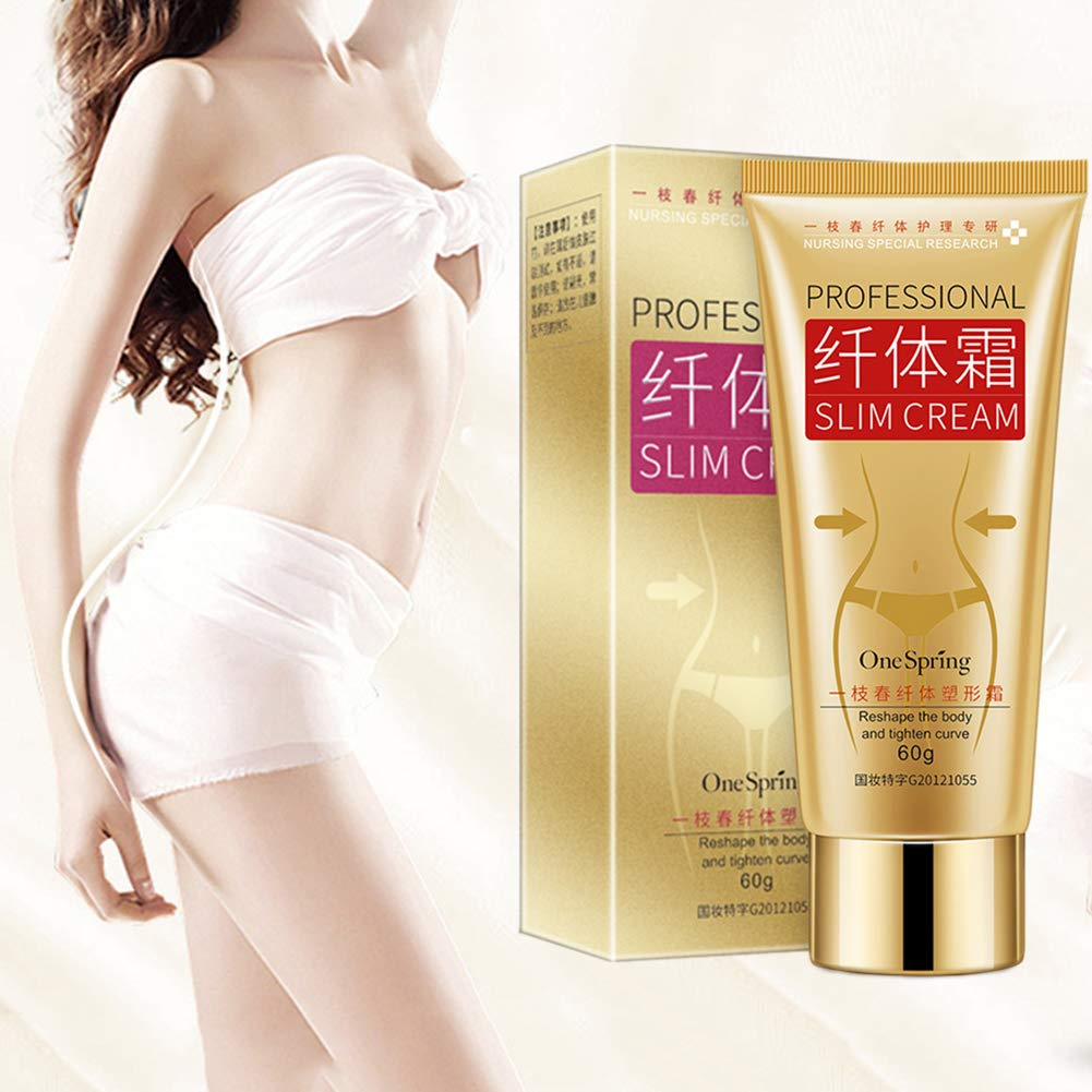 Body Slim Cream, Cellulite Removal Cream Fat Burner Weight Loss Slimming Creams Leg Body Waist Effective Anti Cellulite Fat Burning 5.99