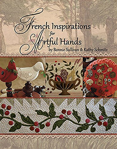 Embroidery Pattern Wool - Bonnie Sullivan and All Through the Night French Inspirations for Artful Hands