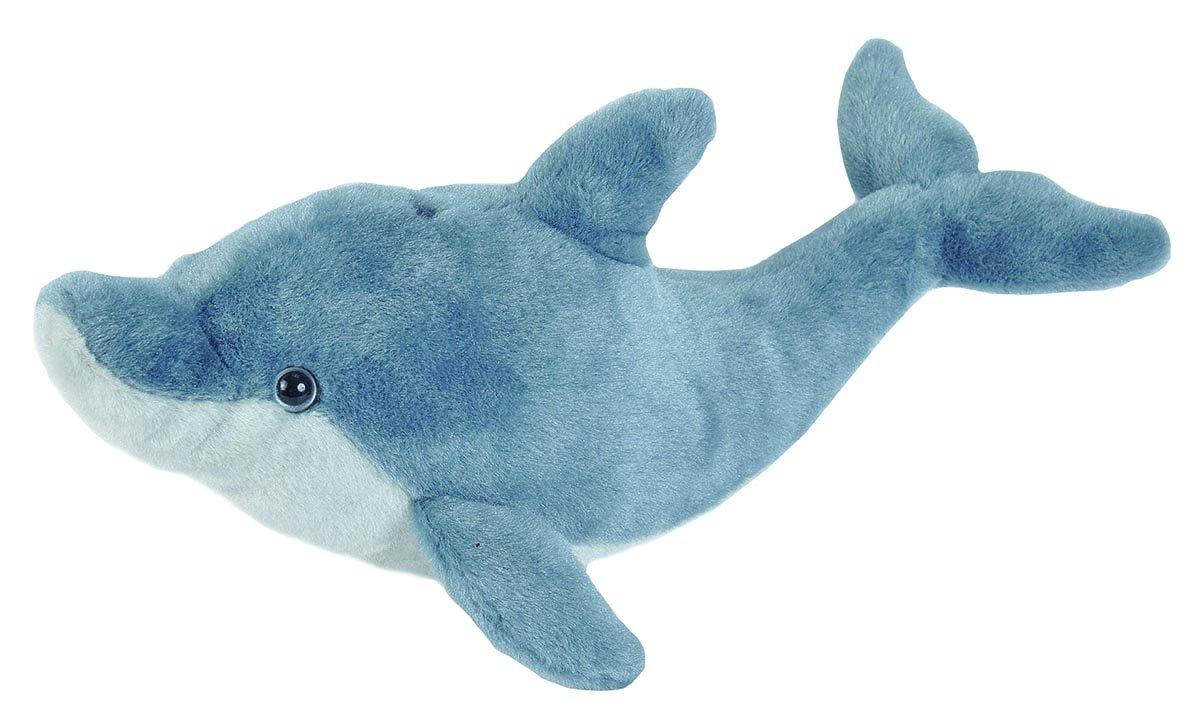 Wild Republic-22469 Peluche Delfín Cuddlekins, Color Azul grisáceo, 30 cm (22469): Amazon.es: Juguetes y juegos