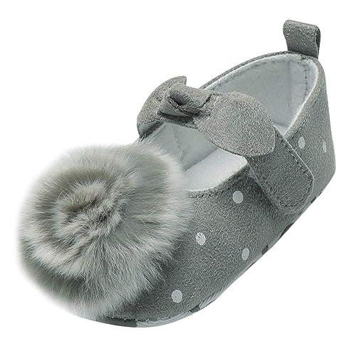 Zapatos de Primeros Pasos para Bebe Niñas Moda Otoño Invierno 2018 PAOLIAN Calzado Terciopelo Lana para recién Nacidos Zapatos Vestir Suela Blanda ...