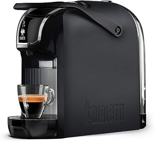 Bialetti - Cafetera expreso Break automática (muy compacta) para cápsulas de aluminio, color negro: Amazon.es: Hogar