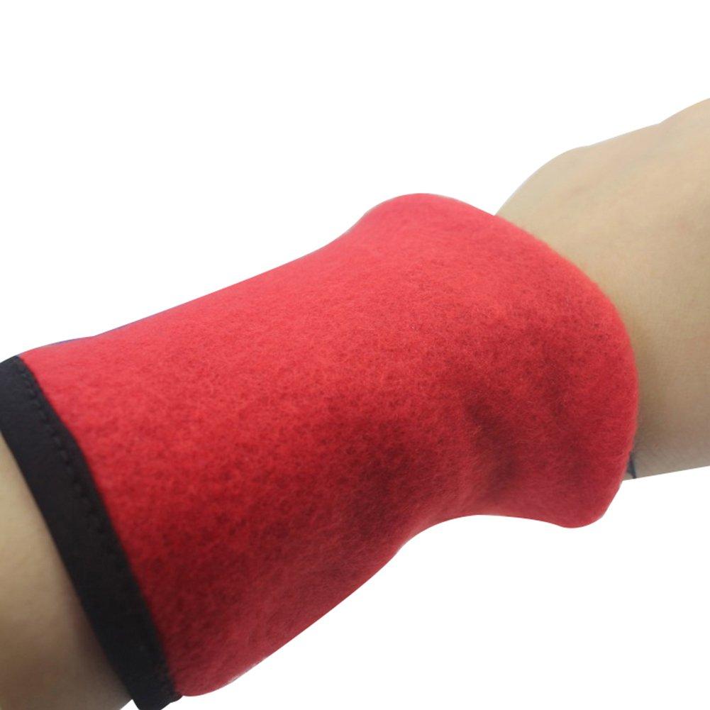 Momangel 1 Pair Wrist Band Wallet Key Cash Storage Sport Wrist Sweatband with Zipper